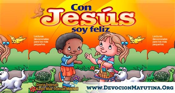 """Matutina para Niños Pequeños """"Con Jesus soy Feliz"""" Devocion Matinal 2015"""