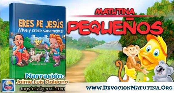 "Matutina para Pequeños-IASD/DIA ""Eres de Jesus"" Devocion Matinal 2015"
