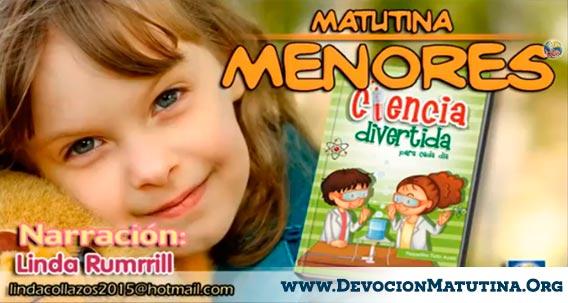 """Matutina para Menores """"Ciencia Divertida"""" Devocional de menores para el año 2015"""