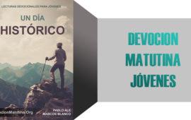 "Jueves 2 de Marzo 2017 – ""HISTORIAS INJUSTAS"" – Matutina para Jóvenes"